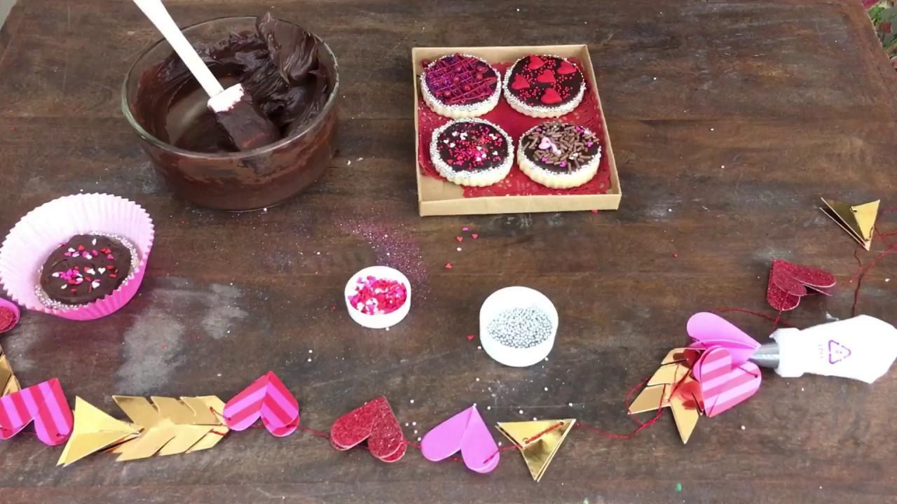 Como Decorar Galletas Con Chocolate Chocolates O Galletas Para Tu San Valentin