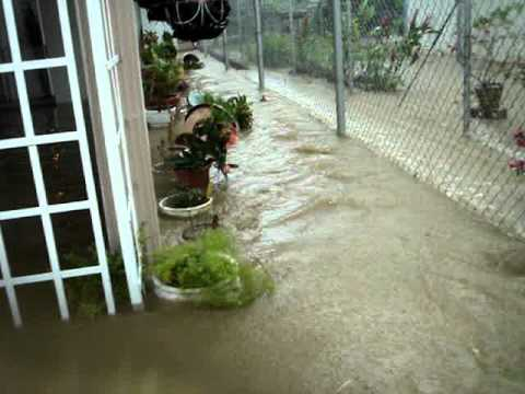 Flood in San Fernando, Trinidad