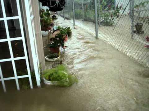 Flood in San Fernando, Trinidad