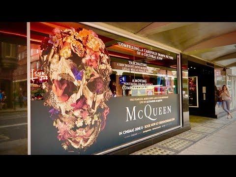London Curzon Cinema Alexander McQueen Movie + Bar Italia Soho
