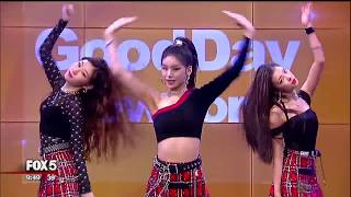 ITZY performs on Good Day New York