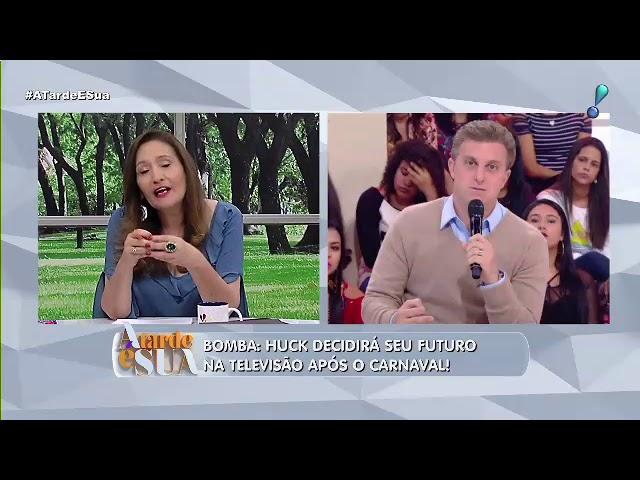 """""""Vai correr o risco?"""", questiona Sonia Abrão sobre Luciano Huck"""