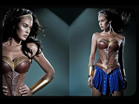 Megan Gale's Wonder Woman Costume from Justice League Mortal Revealed