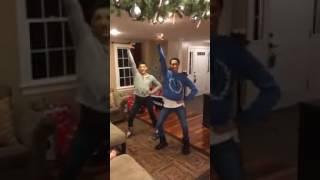 Boys dance to MEAN GIRLS- JINGLE BELL ROCK