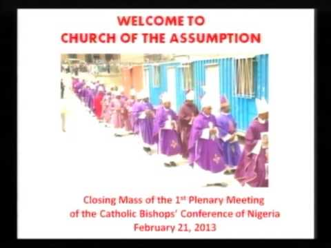 Closing Mass of the Catholic Bishops' Conference of Nigeria