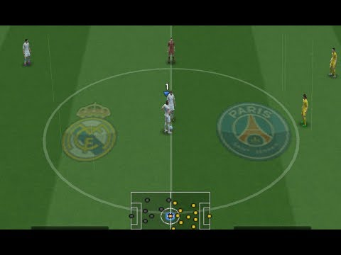 PES 2018 (PS2) Real Madrid vs PSG - Camera PS4 / Xbox One