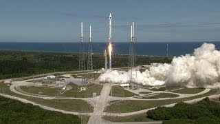 Atlas 5 rocket launches GPS satellite
