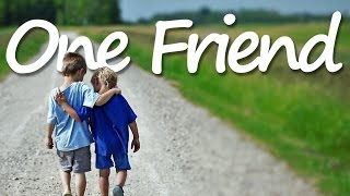 ONE FRIEND (Lyrics) - Dan Seals YouTube Videos