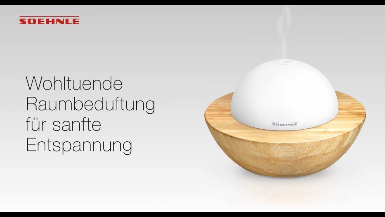 soehnle design aroma diffuser modena youtube. Black Bedroom Furniture Sets. Home Design Ideas
