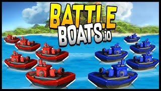 Welcome to Battleboats.io! Battleboats.io gameplay features multipl...
