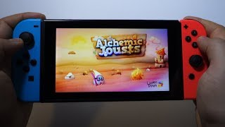 Alchemic Jousts Nintendo Switch gameplay