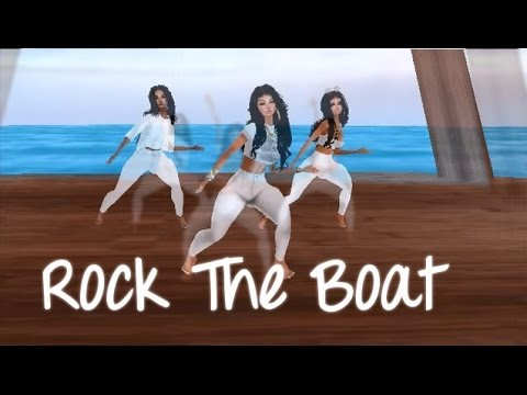 Aaliyah ~Rock The Boat Music Video (IMVU)