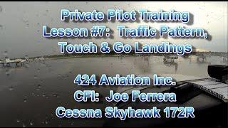 Private Pilot Flight Training, Lesson #10:  Emergency Descent & Landings, Engine Failure