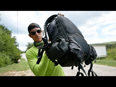 My First Day Back Adventure Backpack Fishing