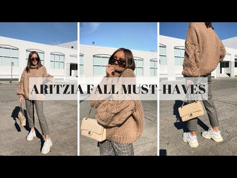 ARITZIA HAUL: FALL MUST-HAVES | Emma Rose