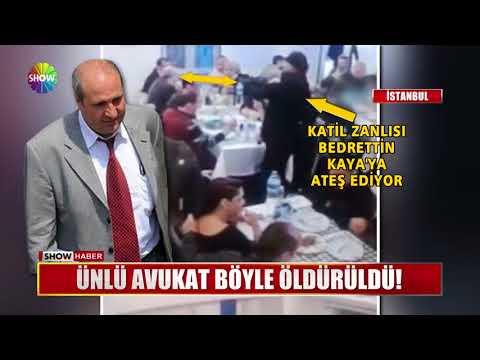 Ünlü Avukat Böyle öldürüldü!