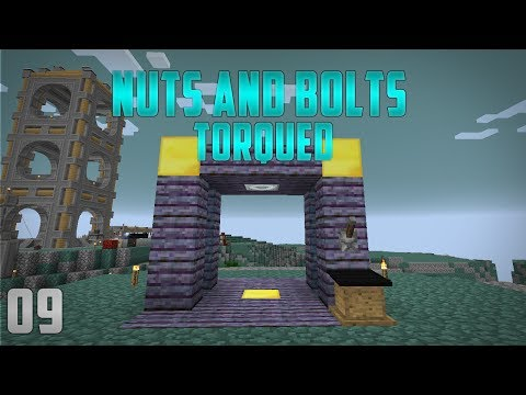 Minecraft Nuts and Bolts Torqued EP9 Atomic Reconstructor + Ars Magica Altar