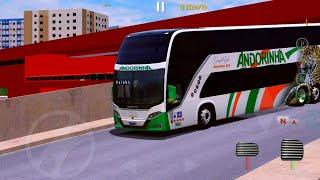 Vissta Bus DD Andorinha viagem de Cuiabá-MT/Sorriso-MT - World Bus Driving Simulator