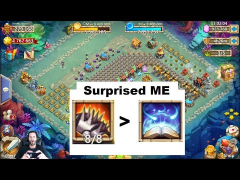 Bladeshell is Better Than Revitalize In this Situation Surprised Me Castle Clash