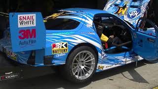 WTAC 2014 - RE Amemiya Hurricane RX7 idling in the pits. You would ...