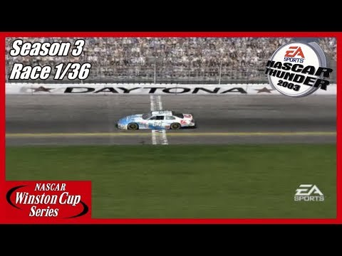 (The Championship Run?) NASCAR Thunder 2003 Career Mode (S3 Race 1/36) At Daytona