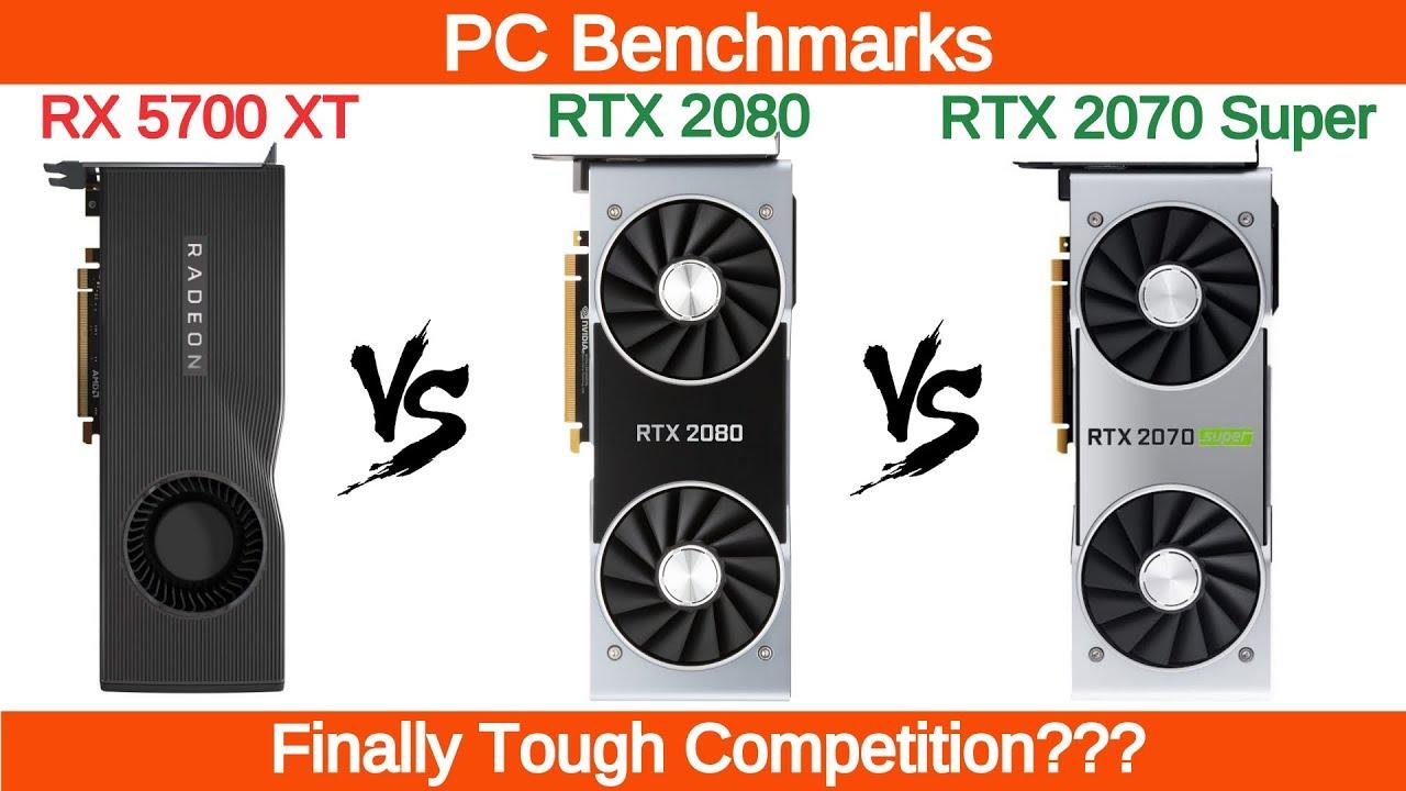 AMD RX 5700 XT vs RTX 2080 vs RTX 2070 Super 1440p and       Doovi