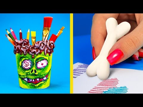 Back To School Special / 14 DIY Zombie School Supplies