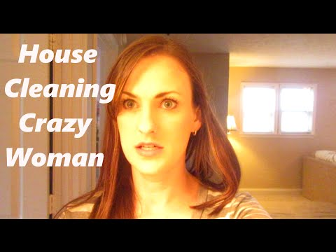 House Cleaning Crazy Woman {Daily Vlog}