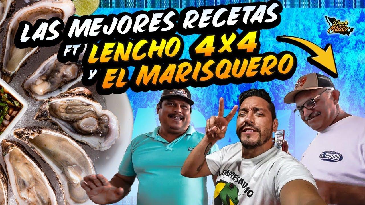 Un DÍA COMIENDO con @Lencho 4x4  y EL MARISQUERO Guasave, Sinaloa | Día 20 #DondeIniciaMexicoLRG