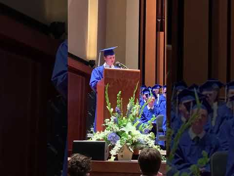 Seattle Preparatory School Graduation 2019 - Carson Stockwell commencement