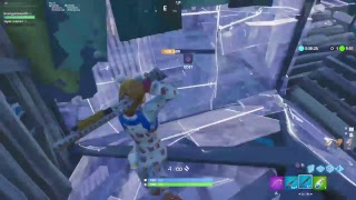 Playing fortnite (onesie skin gameplay and candy axe)