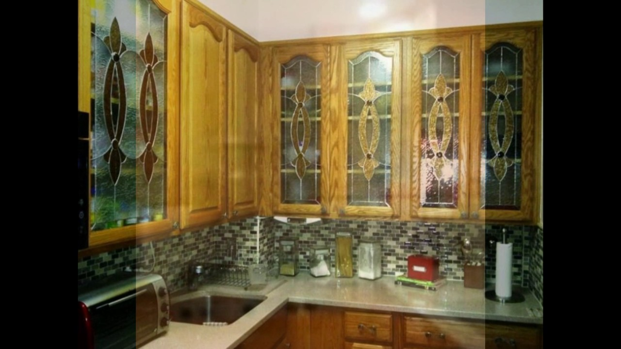 Delightful Kitchen Cabinets With Glass Doors Youtube