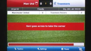 Football Manager Handheld(TM) 2011 iPhone Gameplay Review - AppSpy.com