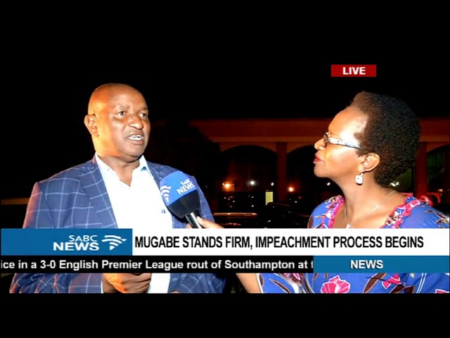 ZANU PF Chief Whip explains Mugabe's impeachment process