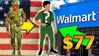 """🇺🇲D.I.Y """"US Vietnam Uniform"""" from Walmart for Halloween!"""