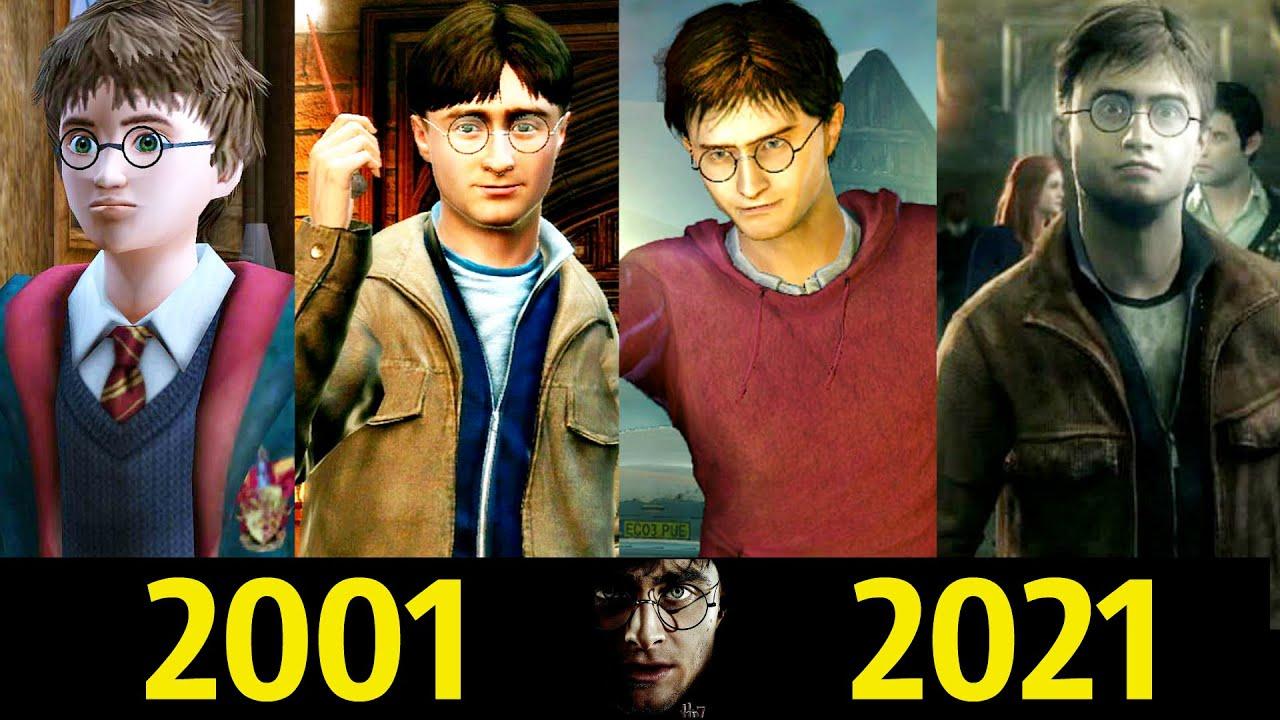 😎 Гарри Поттер - Эволюция (2001 - 2021) ! Все Появления в Играх 🌟!