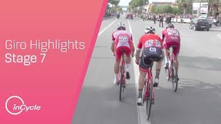 Giro d'Italia 2018 | Stage 7 Highlights | inCycle