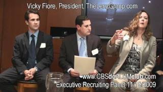 Working With Executive Recruiters: Retained Search versus Contingency Search