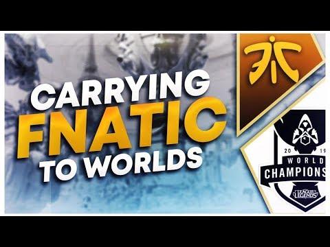 CARRYING FNATIC (ft. Rekkles + Nemesis) (EUW DAY 6) | League of Legends