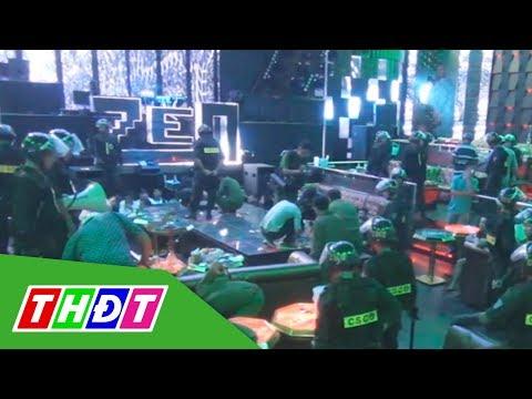 Kiên Giang: Đột kích quán bar, phát hiện nhiều hung khí nguy hiểm | THDT