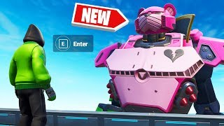*NEW* CONTROLLING The ROBOT! (Fortnite Robot vs. Monster EVENT)