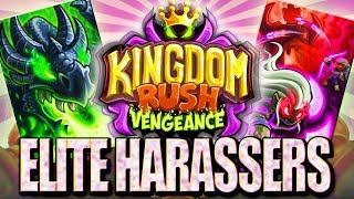 SUPER POŁĄCZENIE || ELITE HARASSERS || #012 | Kingdom Rush Vengeance | PL