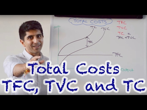 Y2 4) Total Cost Curves - TC, TVC, TFC