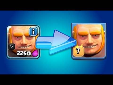 Clash Of Clans | GEMMING TO MAX LEVEL!! Gemming Max Troops In CoC 2015!