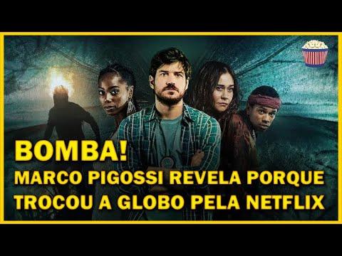 BOMBA! Marco Pigossi revela porque TROCOU a Globo pela Netflix e fala sobre Cidade Invisível