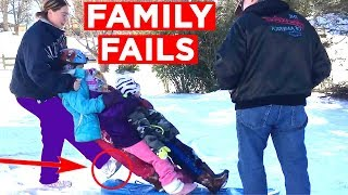 FAILING WITH FAMILY!! | Candid Family Bloopers Videos From FB, IG, Snapchat And More!! | Mas Supreme
