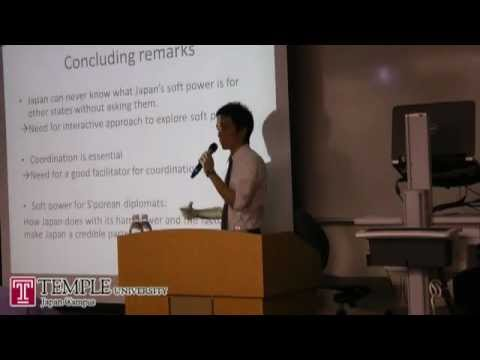 Public Lecture Video (5.30.2012) : Soft Power In Japan-Singapore Interstate Relations
