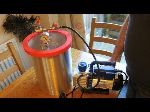 Vacuum Chamber - mould making