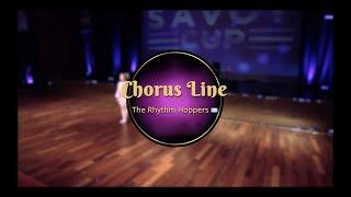 Savoy cup 2018 - chorus line - the rhythm hoppers