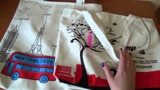 Пляжные сумки с Aliexpress!) Обзор от Полины!)